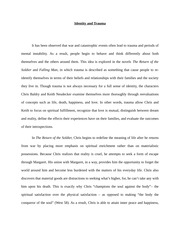 the movie sake essay critical response the sake the  8 pages identity and trauma essay