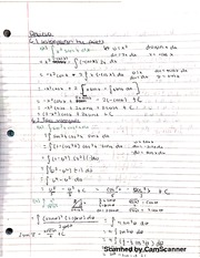 Math 151B Chapter Review Notes