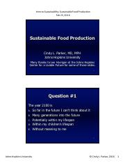 Sustainable Food Production  2-23-2016 COLOR