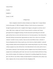 UC PROMPT 2 Pages Collegeessays