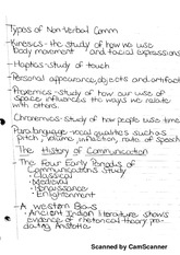 Communication Lecture Notes