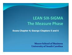 4.1 The Measure Phase
