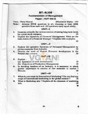 (www.entrance-exam.net)-Kurukshetra University B.Tech-Fundamentals of Management Sample Paper 5.pdf