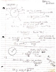 Physics 2 Lab 1 (Student Answers)
