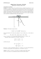 Problem 1 and Sample of Problem 3 (Answers)