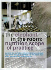 Nutritition Scope of Practice