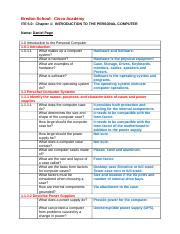 ITE 5.0 - Chapt 1 - Study Guide - Student.doc