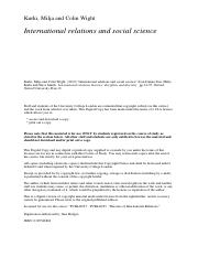 International Relations and Social Science Kurki.pdf