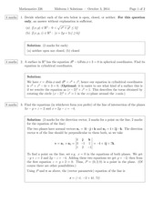 MATH 226 Fall 2014 Midterm 1 Solutions