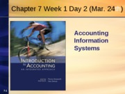 Chapter 7 Week 1 Day 2 Spring 2010 Revised