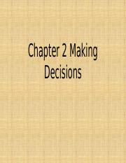Chapter 2 Making Decisions.pptx