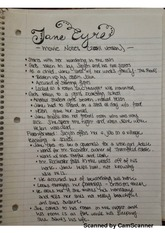 jane eyre movie notes