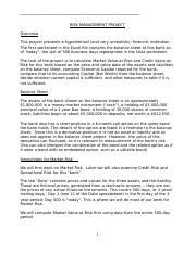 FIN 362 RISK MANAGEMENT PROJECT INSTRUCTIONS.docx