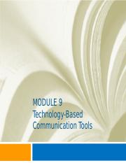 CJ_Communications_Module_9_Technology_Based_Tools