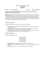 SQL statements Homework Questions Spring 2014