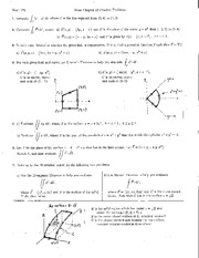 Math 273 Chapter 13 Practice Problems