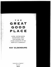 Oldenburg - Great Good Place