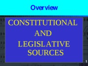 acct 827 ppt constitution and leg sources