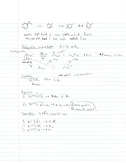 Halogenation and Hydrohalogenation of Alkenes Notes