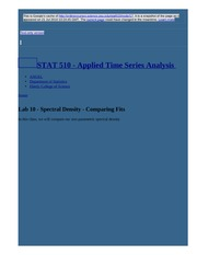 node17 Lab 10 - Spectral Density - Comparing Fits   STAT 510 - Applied Time Series Analysis