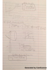 Arc Length Class Notes