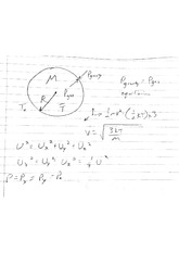 Potential of Star and Ideal Gas Law