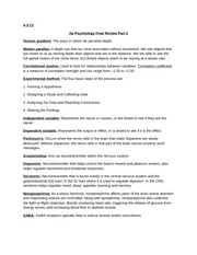 pysch essay Essay writing guide for psychology students before you write your essay it's important to analyse the task and understand exactly what the essay question is asking.