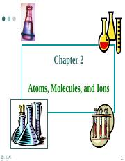 CHEM101 - CH2 SAADI Notes.ppt