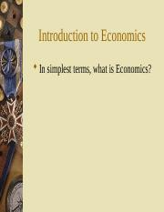 01 Introduction to Economics.ppt