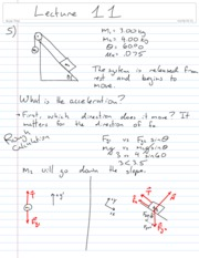 Physics Lecture 11