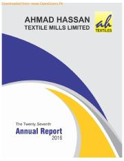 AHTM- 2016- Ahmad Hassan Textile Mills LImited.Text.Marked.Text.Marked.doc