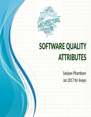 4. Achieving Quality Attributes