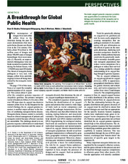 A Breakthrough for Global Public Health