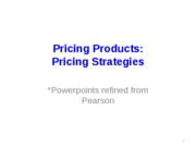 11-Pricing+strategies
