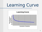 Learning Curve (Handout)