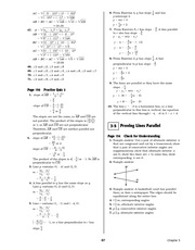 Pre-Calculus Homework Solutions 65