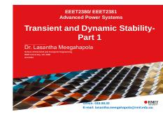 EEET2380-81-Lecture_7-Dynamics and Transient Stability-Part1.pdf