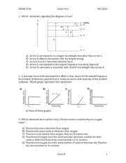Chem 1310 Fall 2013 Test 2 Version B