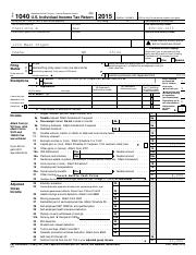 2015 Tax Return Documents (Rae Charlotte A)