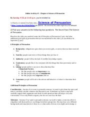 Online Activity #3 - Chapter 4 Science of Persuasion.docx