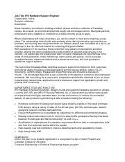 Module 3 Assignment Job Descriptions pdf - Job Title IPD