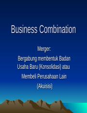 PERT. 11Business+Combination new.ppt