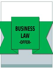 K00477_20191126160934_Business Law_Contract Law_OFFER.ppt