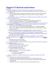 Chapter 27 study guide