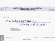t14ACharactersAndStringVariables