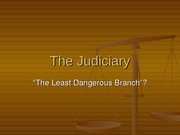 The_Judiciary Lecture