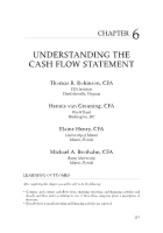 Chapter 6 - Understanding The Cash Flow Statement