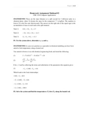 Homework 2  Mathcad Problem 123[1]