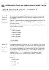 BBE 2201 Final Exam (60 questions - 3 hours)3