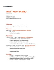 Lab 3-2 Marsh Resume